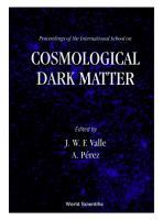 Cosmological Dark Matter   Proceedings Of The International School PDF