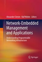 Network Embedded Management and Applications PDF