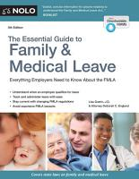 Essential Guide to Family   Medical Leave PDF