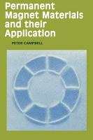Permanent Magnet Materials and their Application PDF