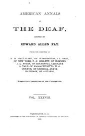 American Annals of the Deaf: Volume 38