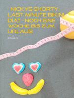 Nickys Shorty  Last Minute Bikini Di  t PDF