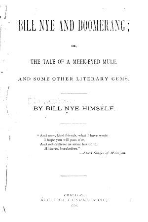 Bill Nye and Boomerang