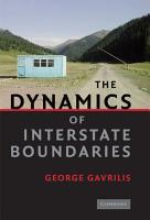 The Dynamics of Interstate Boundaries PDF