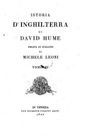 Istoria D'Inghilterra di David Hume
