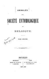 Bulletin et annales: Volumes11à12