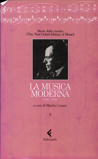 Storia della musica  The New Oxford History of Music PDF