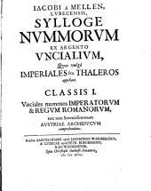 Unciales nummos Imperatorum & Regum Romanorum: 1