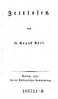 Zeitlosen PDF