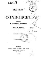 Oeuvres de Condorcet: Volume3