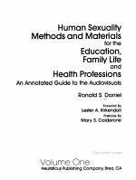 Human Sexuality Methods and Materials for the Education  Family Life and Health Professions PDF