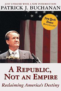 A Republic  Not an Empire Book