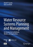 Water Resource Systems Planning and Management PDF