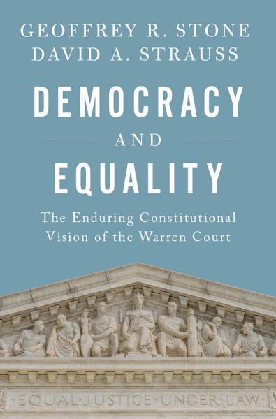 Download Democracy and Equality Book