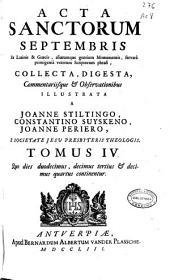 Acta sanctorum septembris: ex latinis & graecis aliarumque gentium monumentis servata primigenia veterum scriptorum phrasi
