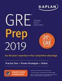 GRE Prep 2019 PDF