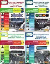 Manual de computadoras y módulos automotrices: Chrysler y Nissan