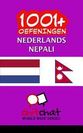 1001+ Oefeningen Nederlands - Nepali