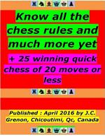 Know All the Chess Rules and Much More Yet