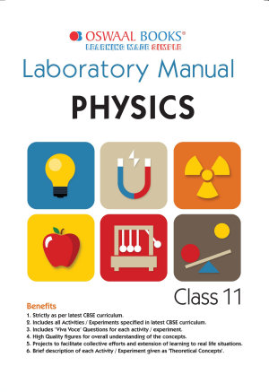 Oswaal CBSE Laboratory Manual Class 11 Physics Book  For 2022 Exam
