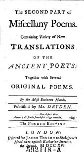 The Second Part of Miscellany Poems