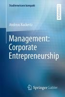 Management  Corporate Entrepreneurship PDF