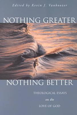 Nothing Greater  Nothing Better PDF
