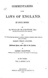 Book I and II
