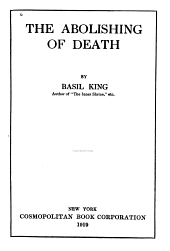The Abolishing of Death