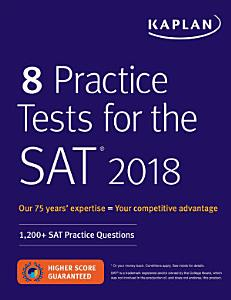 8 Practice Tests for the SAT 2018 Book
