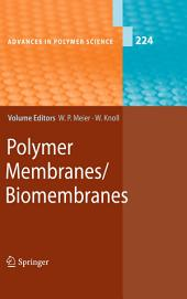 Polymer Membranes/Biomembranes