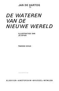 De wateren van de Nieuwe Wereld PDF