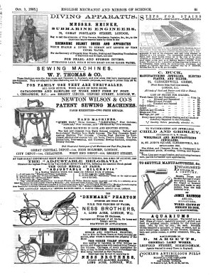 The English Mechanic And Mirror Of Science And Art