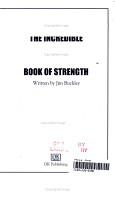 The Incredible Hulk s Book of Strength PDF