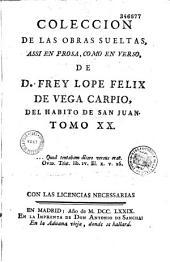 Coleccion de las Obras sueltas: Assi en Prosa como en Verso