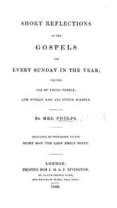 Short Reflections on the Gospels for every Sunday in the year