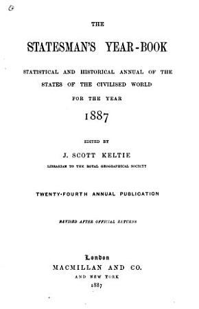 The Statesman s Year book PDF