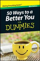 50 Ways to a Better You For Dummies  Mini Edition PDF