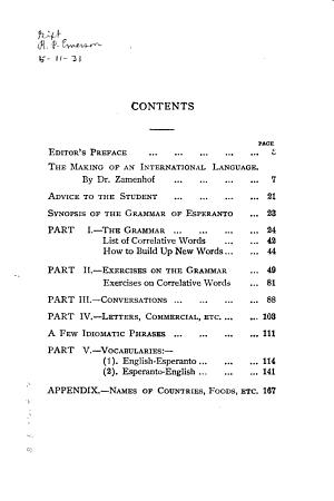Esperanto The Universal Language PDF