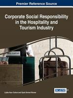 Corporate Social Responsibility in the Hospitality and Tourism Industry PDF