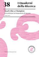 Teach Like a Champion. 62 Tecniche Per Un Insegnamento Di Successo