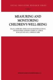 Measuring and Monitoring Children's Well-Being