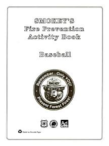 Smokey s fire prevention activity book PDF