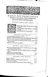 Histoire générale de France avec l'Estat de l'Eglise et de l'Empire