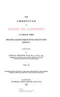 The Chronicle of Pierre de Langtoft PDF