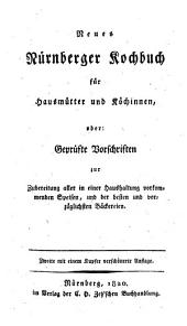 Neues Nürnberger Kochbuch