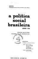 A Pol  tica social brasileira 1930 64 PDF