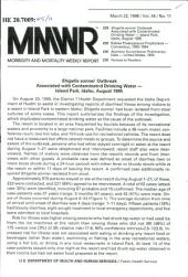 Morbidity and Mortality Weekly Report: MMWR, Volume 45, Issue 11