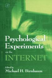 Psychological Experiments on the Internet PDF