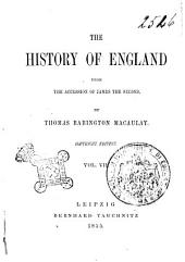 The history of England: from the accession of James the Second, Volume 7
